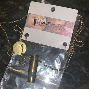NWT Half United Necklace